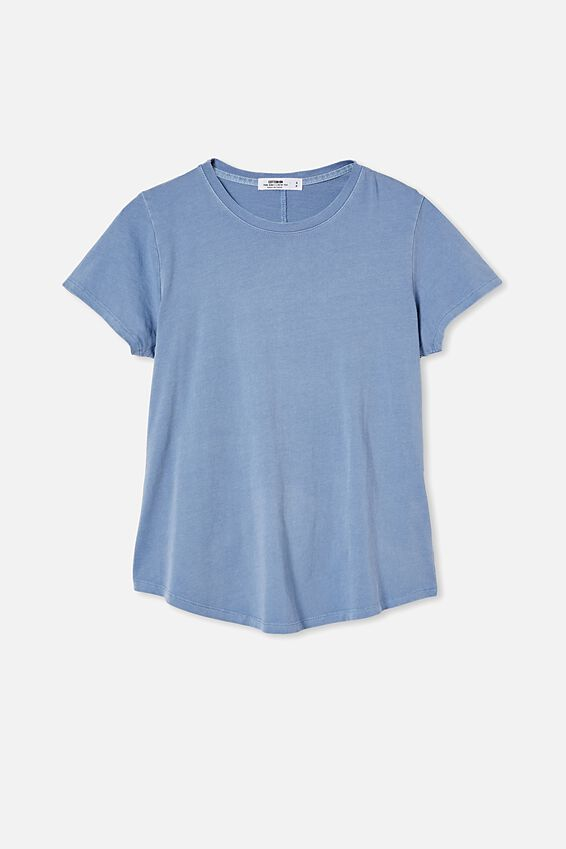 The One Crew Tee, WASHED SKY BLUE