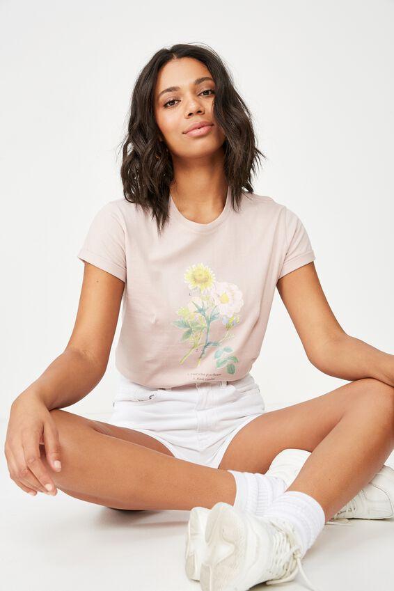 Classic Arts T Shirt, ROSA/MAUVELOUS
