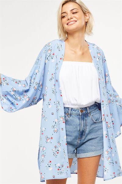 Holly Kimono, O NEVADA SUNSET DELLA AEGAN BLUE