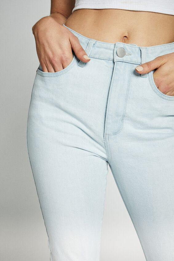 Stretch Mom Jean, BONDI BLUE