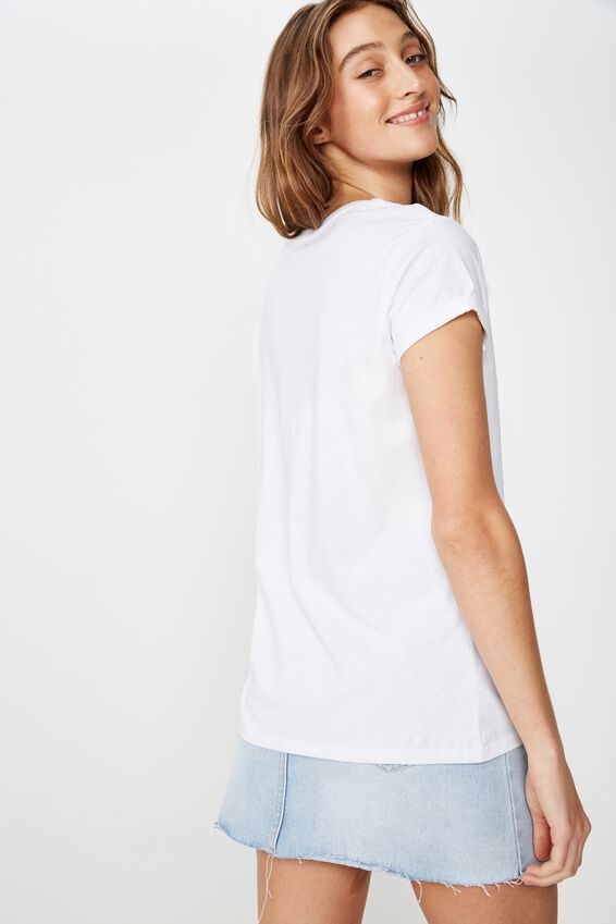 Classic Slogan T Shirt, SIERRA NEVADA/WHITE