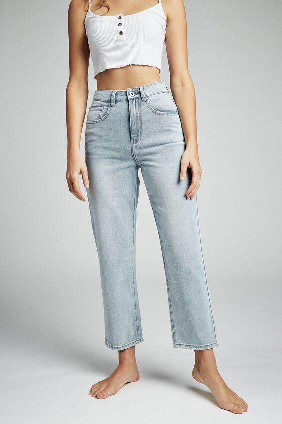 Straight Leg Jean, BROOKLYN BLUE
