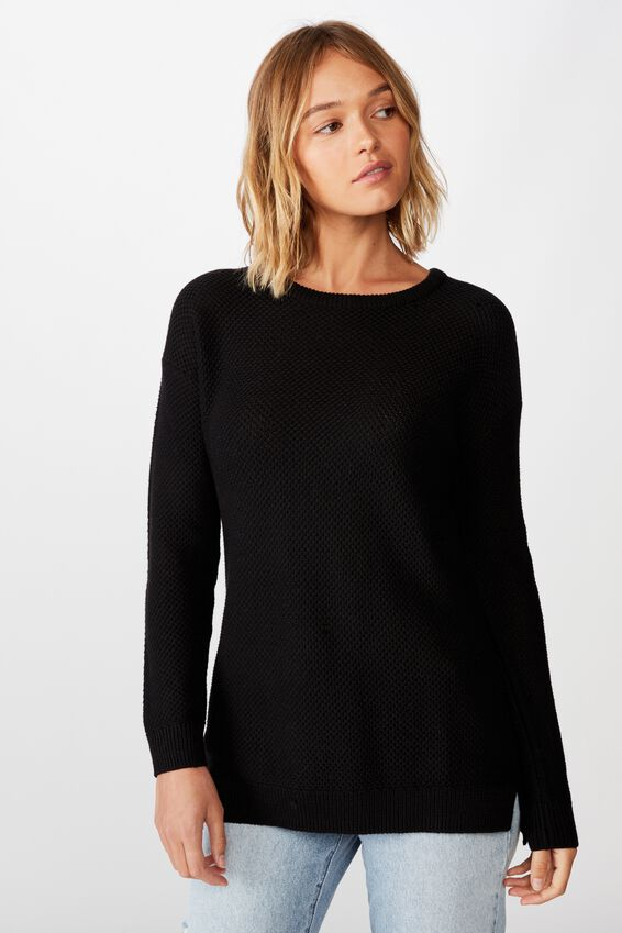 Archy Pullover, BLACK
