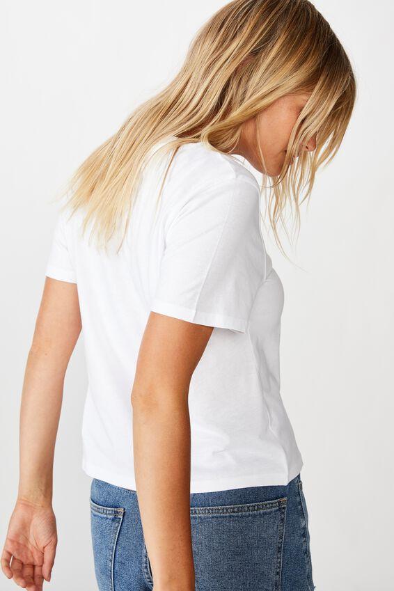 Essential Art T Shirt, NO/WHITE
