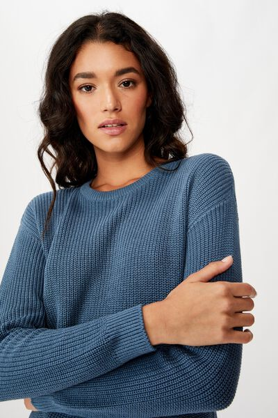 Archy 6 Pullover, CAPTAINS BLUE