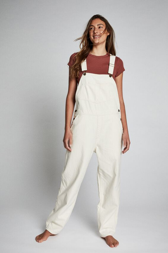 Denim Overall, ECRU