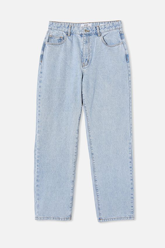 Baggy Straight Jean, ROADKNIGHT BLUE