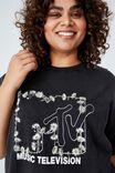 LCN MTV DAISY LOGO/BLACK