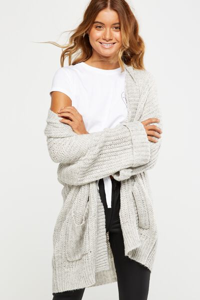 The New Sienna Cardigan, GREYS TWIST