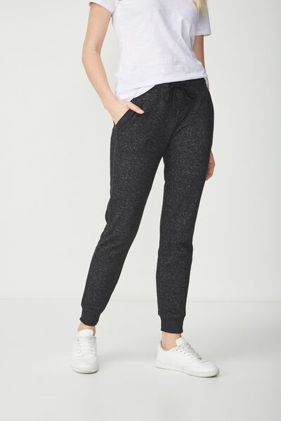 Adele Trackpant, BLACK MARLE