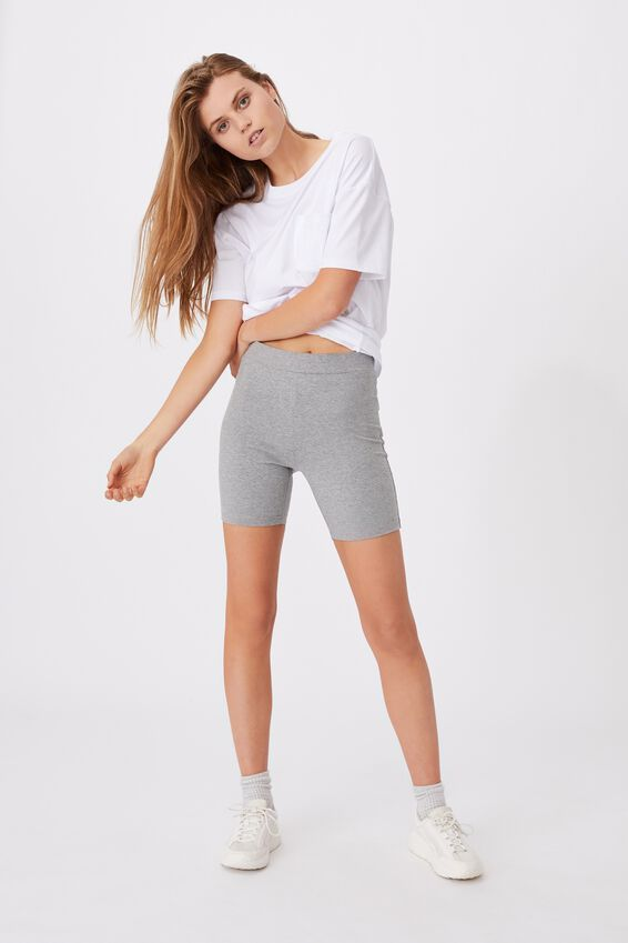 The Pip Jersey Bike Shorts, ZODIAC GREY MARLE
