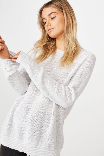 Archy 5 Pullover, WINDSTREAM WHITE TWIST