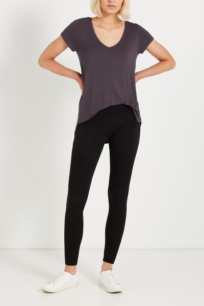 Dakota Detail Legging, NEW BLACK