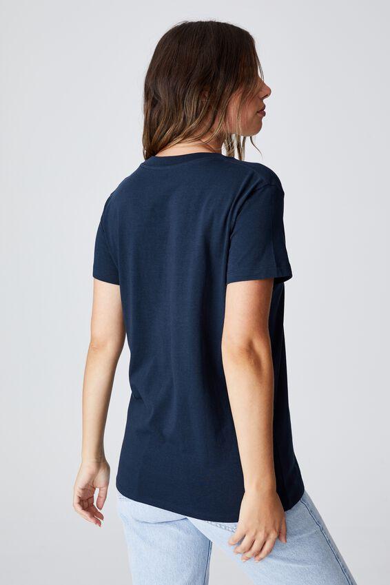 Classic Arts T Shirt, FLOWER/MOONLIGHT