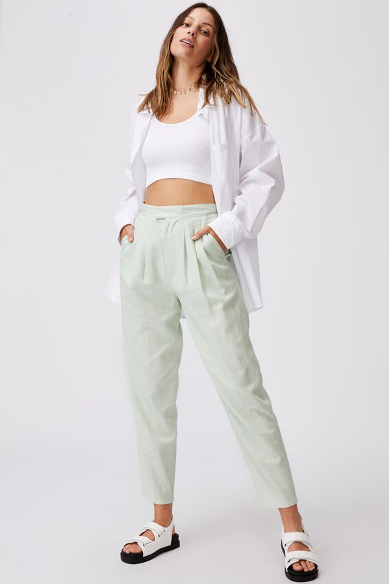 Ultimate Pleat Pant, SPRING MINT