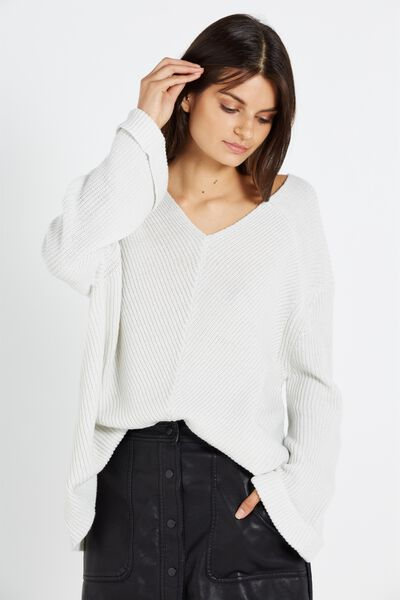 Walter Roll Up Pullover, ICE
