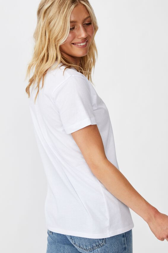 Classic Astrology T Shirt, AQUARIUS/WHITE