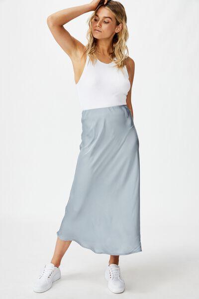 Belle Bias Midi Skirt, TRADEWINDS