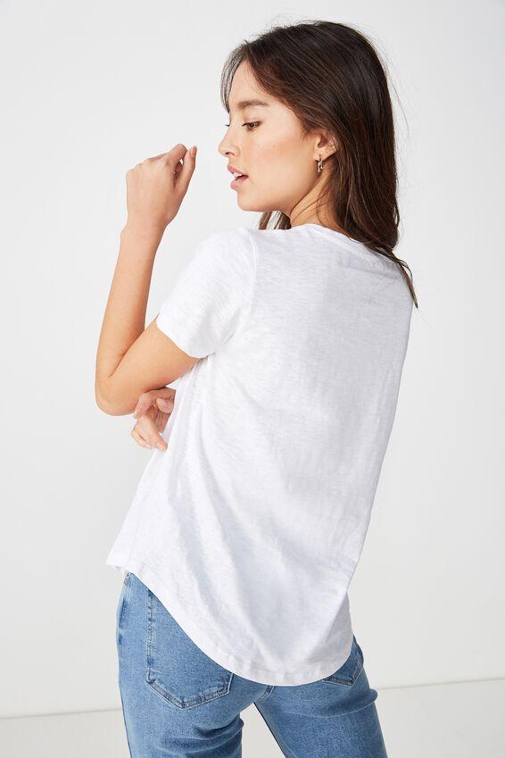 The Crew T Shirt, WHITE 2