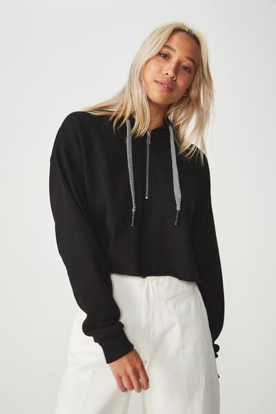 Elevated Sporty Chop, BLACK