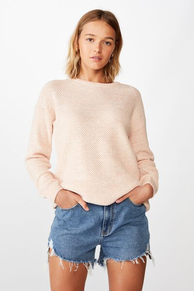 Archy Pullover, EVENING SANDS WHITE TWIST