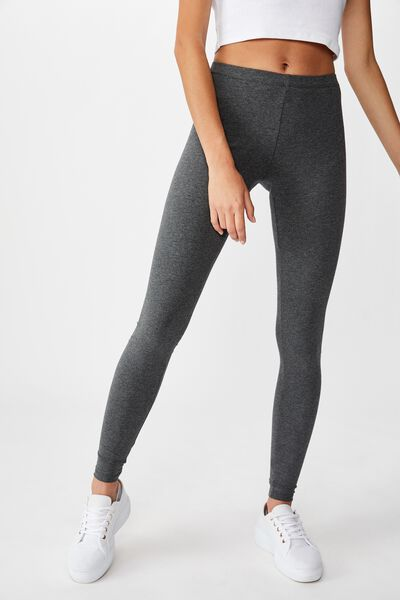 Dylan Long Leggings, NEW CHARCOAL MARLE