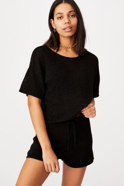 Match Me T- Shirt, BLACK