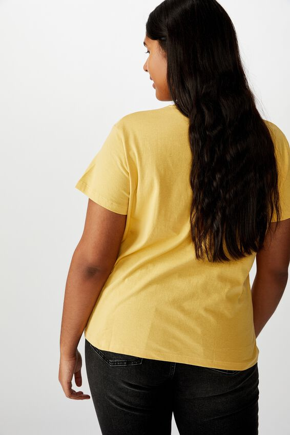 Curve Graphic Tee, OVER IT/COCOON