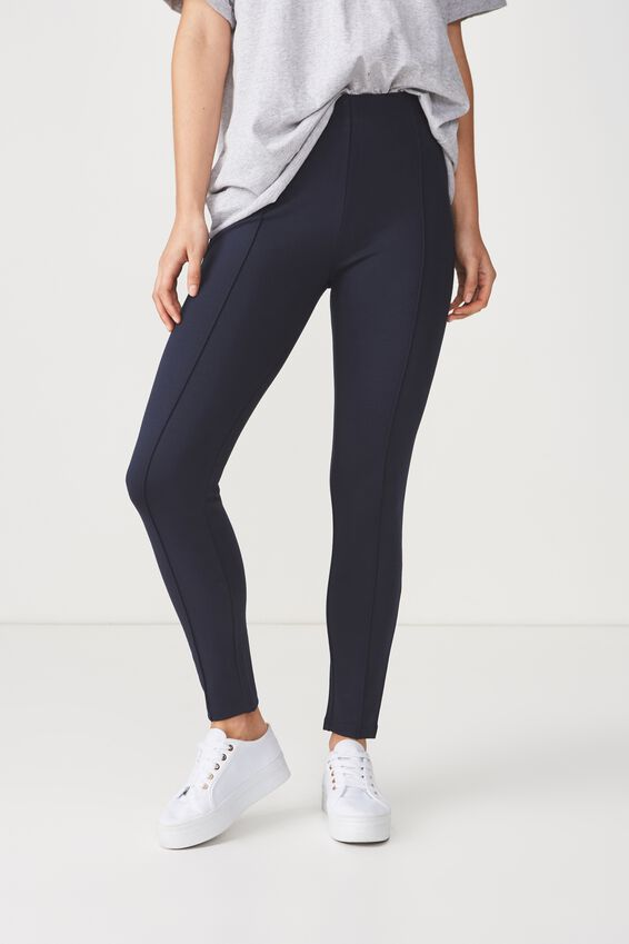 Dantea Legging, NAVY SOLID