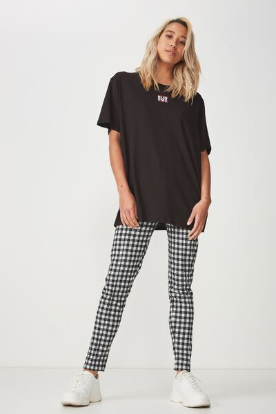 Dantea Legging, LARGE GINGHAM CHECK