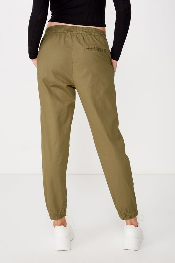 Cuffed Chino, LIGHT OLIVE