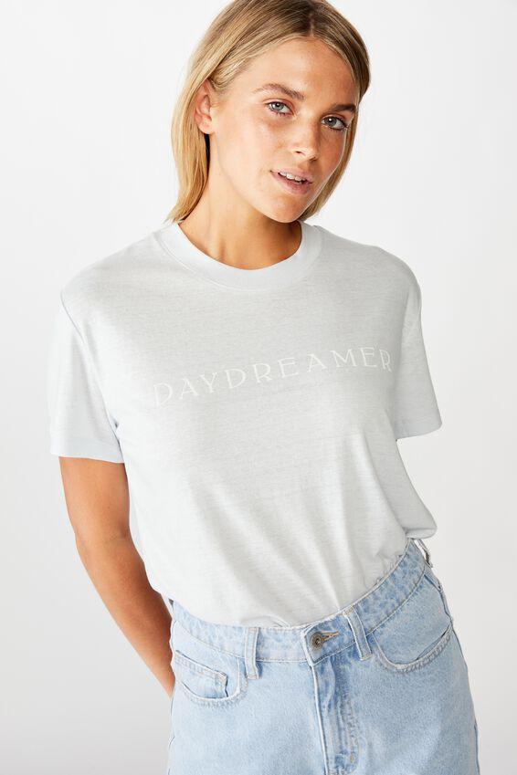Classic Slogan T Shirt, DAYDREAMER/PLEIN AIR