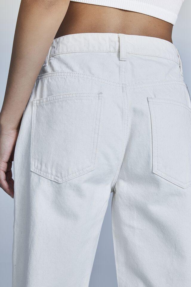 Long Straight Jean, NATURAL