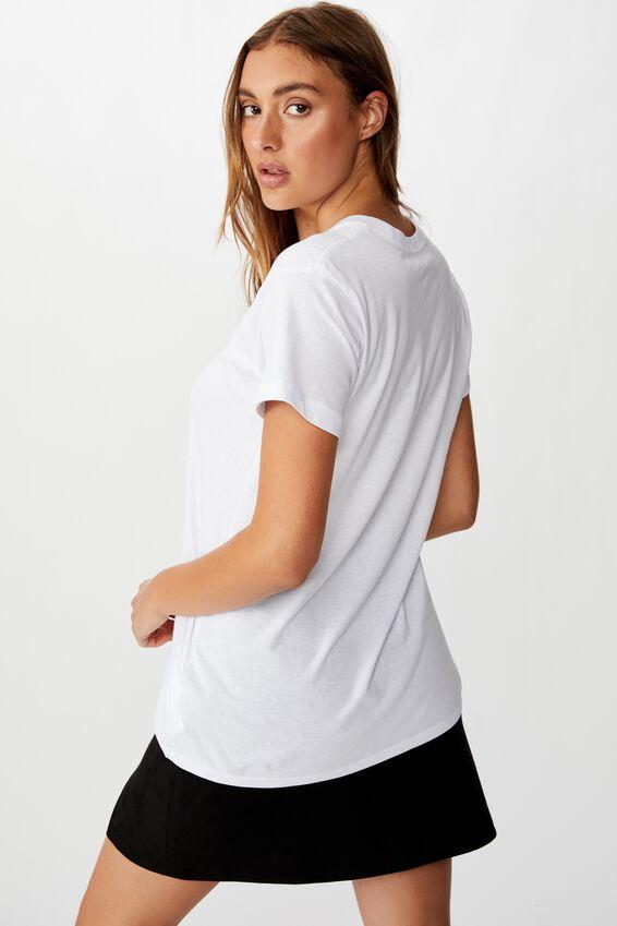 Classic Astrology T Shirt, SAGITTARIUS/WHITE
