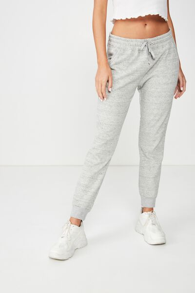 Adele Trackpant, GREY MARLE