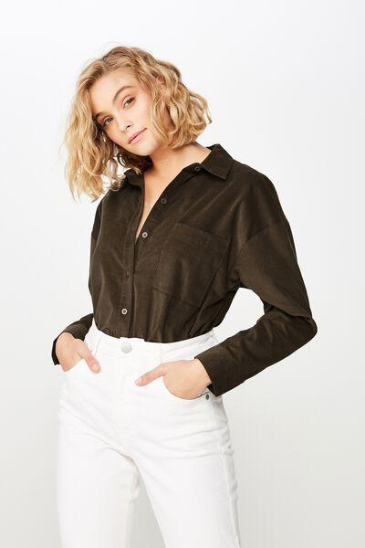 Casual Hudson Shirt, BEECH CORD