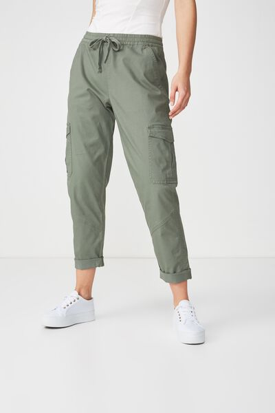 Rolled Hem Chino, SOFT KHAKI