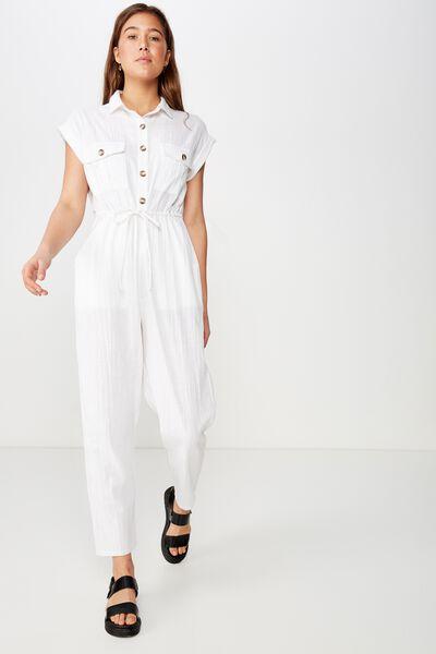 e02d110ac5 Woven Isabella Utility Jumpsuit,. Cotton On Women