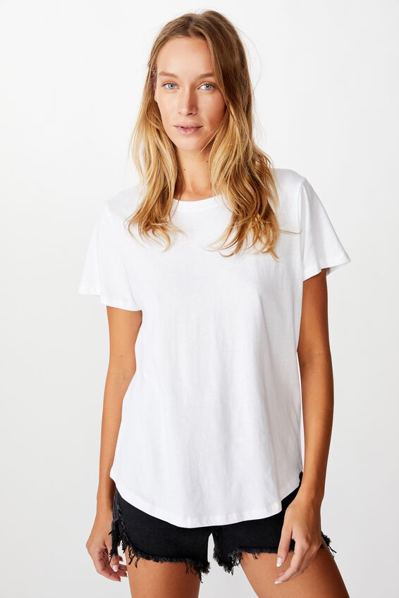 The One Crew Tee, WHITE