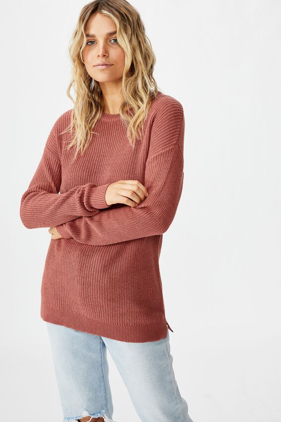 Archy 6 Pullover, CANYON ROSE MARSALA TWIST