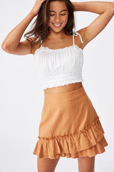 Violet Mini Skirt, LION