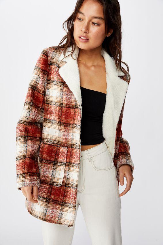 Check Coat, RUST CHECK