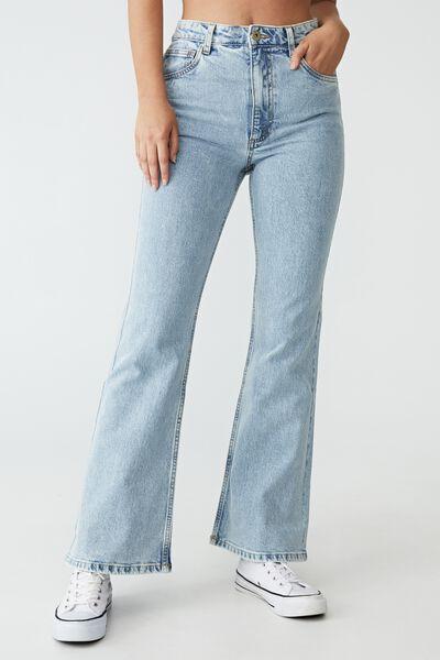Original Flare Jean, ROADKNIGHT BLUE