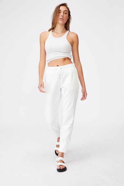 Lady Pants BT0015 Cotton Soft Rope Pants Light Weight Women Pants