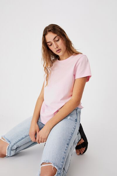 The One Crew Tee, SOFT FROSTY LILAC