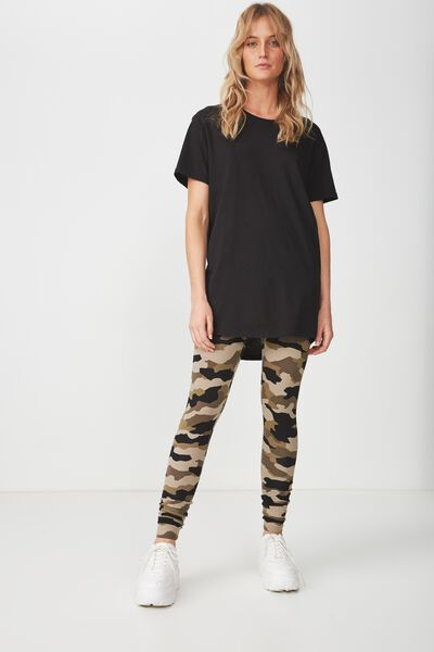 Dakota Detail Legging, DISTRESSED CAMO