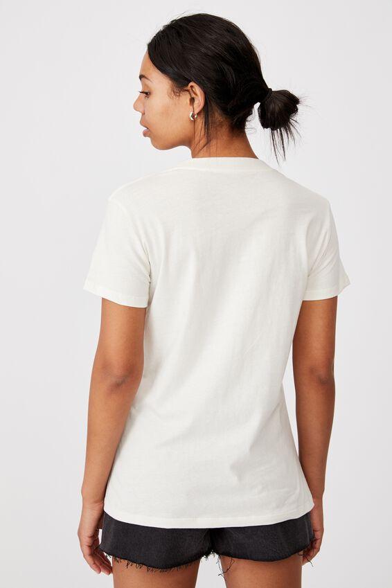 Classic Arts T Shirt, SCORPION/GARDENIA