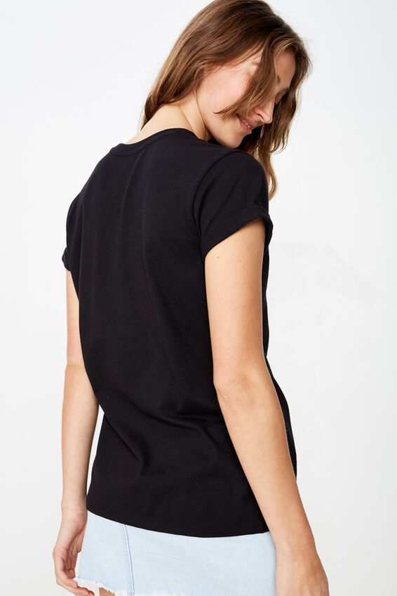 Classic Vintage T Shirt, LONE WOLF/BLACK