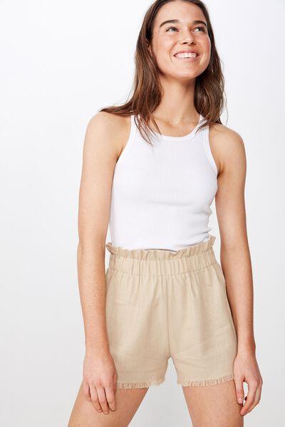 Mila Paperbag Short, NOMAD