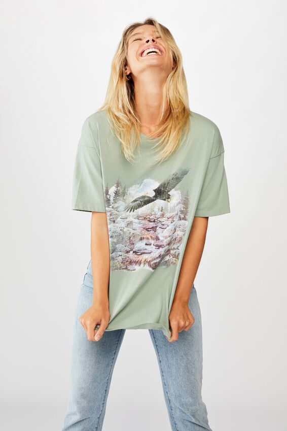 The Original Graphic Tee, EAGLE MOUNTAIN/CHINOIS GREEN